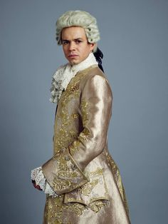 Outlander Season Two on Starz   Character Poster King Louis XV (Lionel Lingelser)
