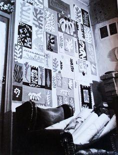 Henri Matisse Artist Studio in Vence, France http://www.pinterest.com/amynankervissmi/matisse-cutouts/
