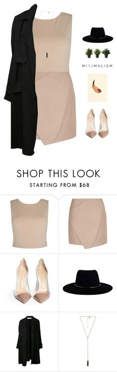 """""""// m i n i m a l i s t //"""" by theonlynewgirl on Polyvore featuring Alice + Olivia, Carven, Gianvito Rossi, Zimmermann, A.L.C., Natalie B, minimal, minimalism, Minimaliststyle and polyvorecontest"""
