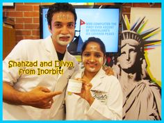 Shahzad and Divya bid goodbye to open large pores. They've got their armour with Kiehl's Rare Earth Pore Cleansing Masque.