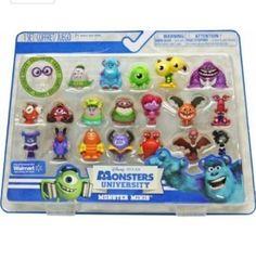 Disney ( Disney ) Pixar ( Pixar ) Monsters University ( Monsters University ) Monster Minis Exclusiv @ niftywarehouse.com #NiftyWarehouse #Geek #Fun #Entertainment #Products