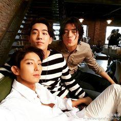 Lee Joon Ki, Nam Joo Hyuk, Kang Ha Neul in MoonLoversScarletHeartRyeo