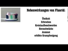 Fluorid Zahnpasta - YouTube