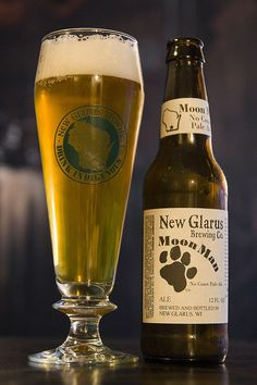Moonman Beer, New Glarus Brewing Co. - Only in Wisconsin-So Good!