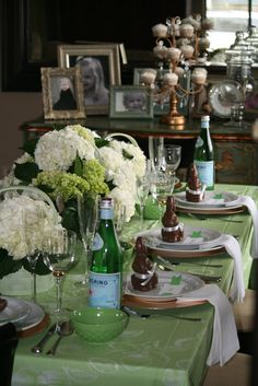 An Easter Tablescape