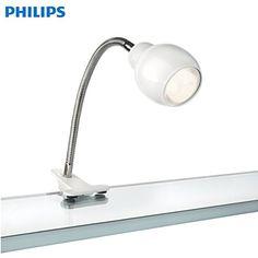 Philips 630013116 Promo Éclairage de Plafond Spot Unique Blanc 1 x 10 W