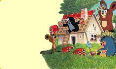 Bild: Der Maulwurf und seine Freunde; Rechte: WDR-Fernsehen 2008 The Mole, Black White Art, Vintage Children, Kids And Parenting, Magick, Childhood, Christmas Ornaments, Holiday Decor, Youth