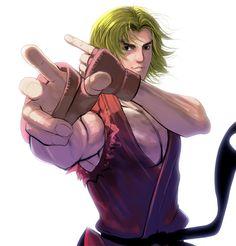 Street Fighter, Ken Masters, by masao