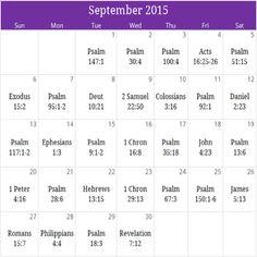 "September 2015 "" Praise"" calendar. Request your free downloadable copy plus monthly devotional/prayer at calendar@iprayallday.com"