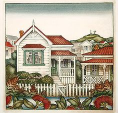 New Zealand prints at Art by the sea, fine art gallery in Devonport, Auckland, New Zealand New Zealand Houses, New Zealand Art, Nz Art, Rare Birds, Bird Prints, Fine Art Gallery, Crafts To Do, Hand Coloring, Art And Architecture