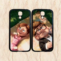 Samsung galaxy note 3,Samsung galaxy s4 case,Samsung Galaxy S3 case,Samsung Galaxy note 2 case,s4 mini case,Carl and Ellie,in plastic. by CrownCase88, $28.99