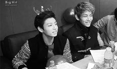 Jungkook & Taehyung | Pinterest