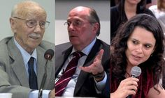 Helio Bicudo, Miguel Reale Jr, Janaina Paschoal - Autores do pedido de impechement - Brasil ....They make the diference