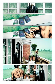 First Pages of the X-Men Gay Wedding Comic