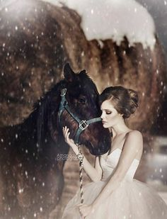Fashion portait with horse by Amanda Diaz Horse Photography, Fashion Photography, Photography Ideas, Amanda Diaz, Style And Grace, Strike A Pose, Beauty And The Beast, My Images, Glamour