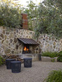 roche + roche landscape architects / st. helena residence