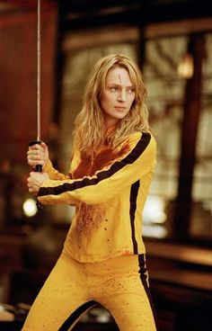 The Black Mamba. She will fight for the ones she loves. Also a master of her craft! Kill Bill