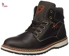 Dockers by Gerli  39CL001-112320, Bottes mi-hauteur non doublées homme - Marron - Braun (Cafe 320), 46 - Chaussures dockers by gerli (*Partner-Link)