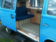 Volkswagen Camper custom interior | Image may have been reduced in size. Click image to view fullscreen.