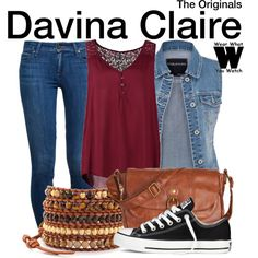 Inspired by Danielle Campbell as Davina Claire on The Originals.