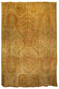 Antique Oushak Rugs (Turkish) by Woven Accents