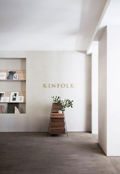 TDC: The Kinfolk Gallery designed by Norm Architects