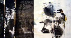 Chiyomi Taneike Longo, Evolution and Sumi Ink, Thing 1, Japanese Painting, Art Abstrait, Fine Art Gallery, Mixed Media Art, American Art, Ink Paintings, Collage Art