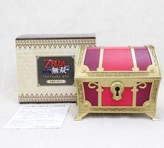 RARE! Zelda Muso Hyrule Warriors Treasure Box Music JAPAN KOEI NINTENDO