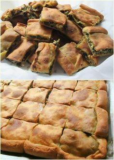 Phyllo Dough Recipes, Quiche Recipes, Cookbook Recipes, Cooking Recipes, Turkish Recipes, Greek Recipes, Desert Recipes, Ethnic Recipes, Vegetable Recipes