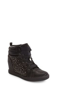 Trendy leopard velcro strap wedge sneakers for the stylish woman ... ddfb32304