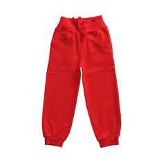 Maxomorra sweatpants rood