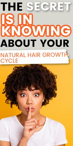 Find out how knowing your natural hair growth cycle can benefit you and how it can help you to grow long natural hair. #naturalhair #haircare #hairtips #curlyhair