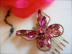 Vintage Beautifully Crafted Juliana Style Pink  by luvmetwice