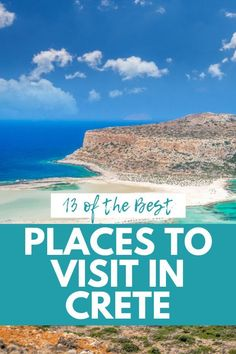 13 Spectacular Places to Visit in Crete: Local Favorites & Hidden Gems - Sofia Adventures Crete Greece, Mykonos Greece, Athens Greece, Santorini, Best Cities, Greece Travel, Greek Islands, World Heritage Sites, Where To Go