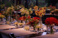 Composição de Vasinhos de Flores
