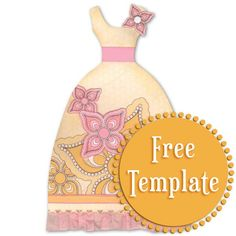 Dress Up Template Stampington & Company
