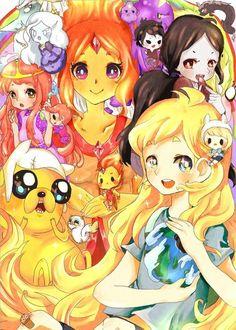 hora de aventura,épico,hora de aventura + anime = legendario:3