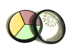 Our beautiful Cream Corrector Trio♥  Green is for Redness such as Rosacea…