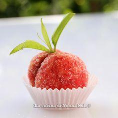 La cucina di Nonna Sole: Peschine dolci easy di Viviana