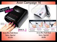 Avon Pro Nail Care available at my eStore www.dianebmitchellonline.com #Avon #naildryer #nailtool #nailpolish #avonrep