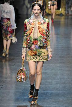 2012 A/W Milan Fashion Week: Dolce & Gabbana