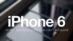 Aparecen nuevas imágenes del iPhone 6 en color negro