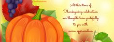 At This Time Of Thanksgiving Facebook Cover coverlayout.com