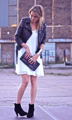 little white dress fashion