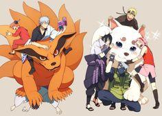 The Crossover Manga/Anime, Naruto Shippuden meet Gintama Naruto Shippuden Sasuke, Anime Naruto, Naruto Comic, Naruto Sasuke Sakura, Sarada Uchiha, Naruto Cute, Sakura Haruno, Manga Anime, Kakashi Hatake