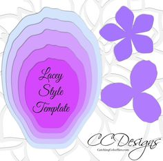 Large Paper Flowers Giant Paper Flowers Templates &