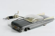 1959 Cadillac. Soviet made tin toy car from my collection. Photo: me.