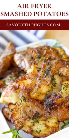This air fryer smashed potatoes are especially good for those on a budget and are both gluten and dairy free. Easy Cheap Dinner Recipes, Easy Chinese Recipes, Asian Recipes, Healthy Side Dishes, Side Dish Recipes, Haitian Food Recipes, Creole Recipes, Healthy Comfort Food, Dinner Dishes