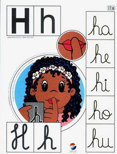 Alfabeto+colorido+h. Alphabet Games, Apraxia, Learning Goals, Teaching Spanish, Spanish Class, English Words, Cursive, Fine Motor Skills, Special Education
