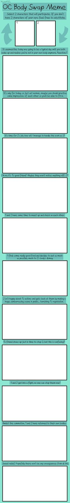 Meme of Couples Firsts - Blank by waywardrogue on DeviantArt - blank reference sheet